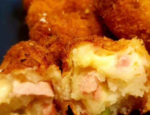 Crunchy Cheese and Ham Croquettes