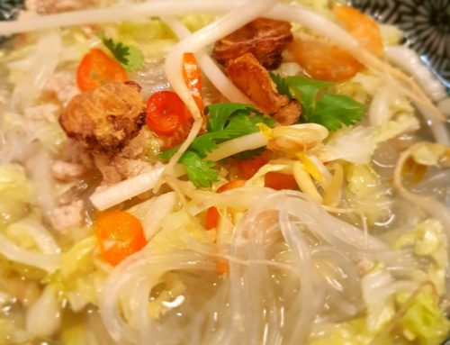 Irish Soup Noodles in Thailand